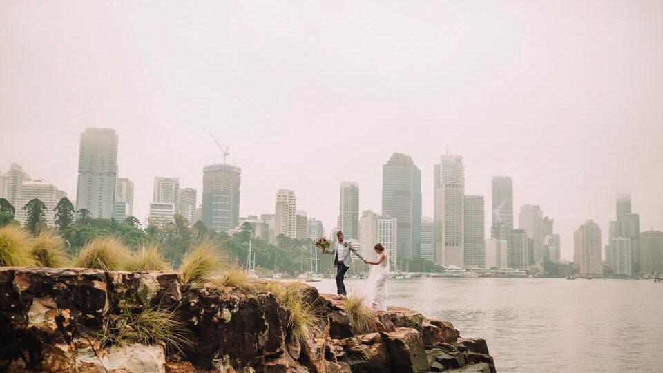 Wedding Couple Riverlife