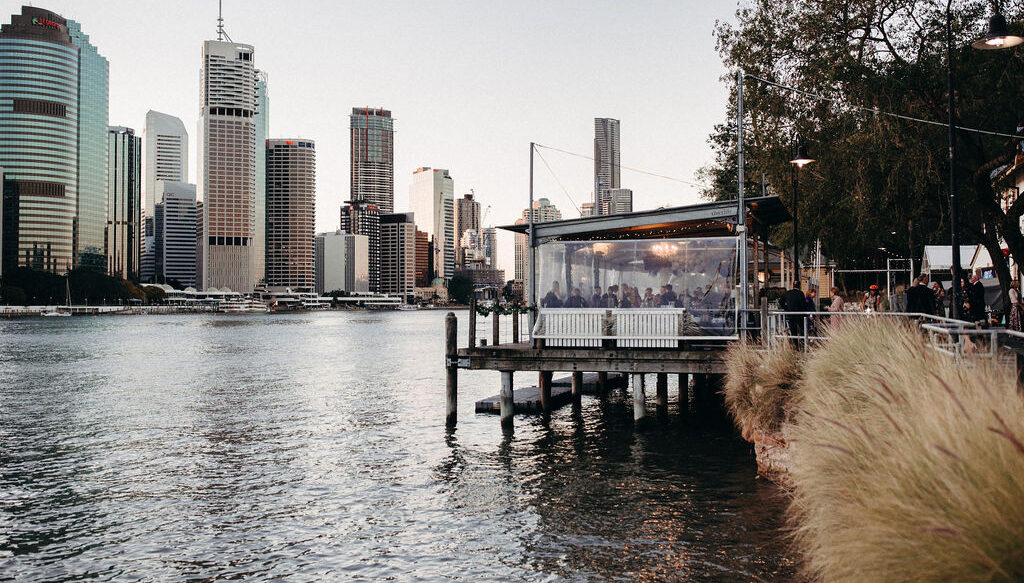 Riverfront venue