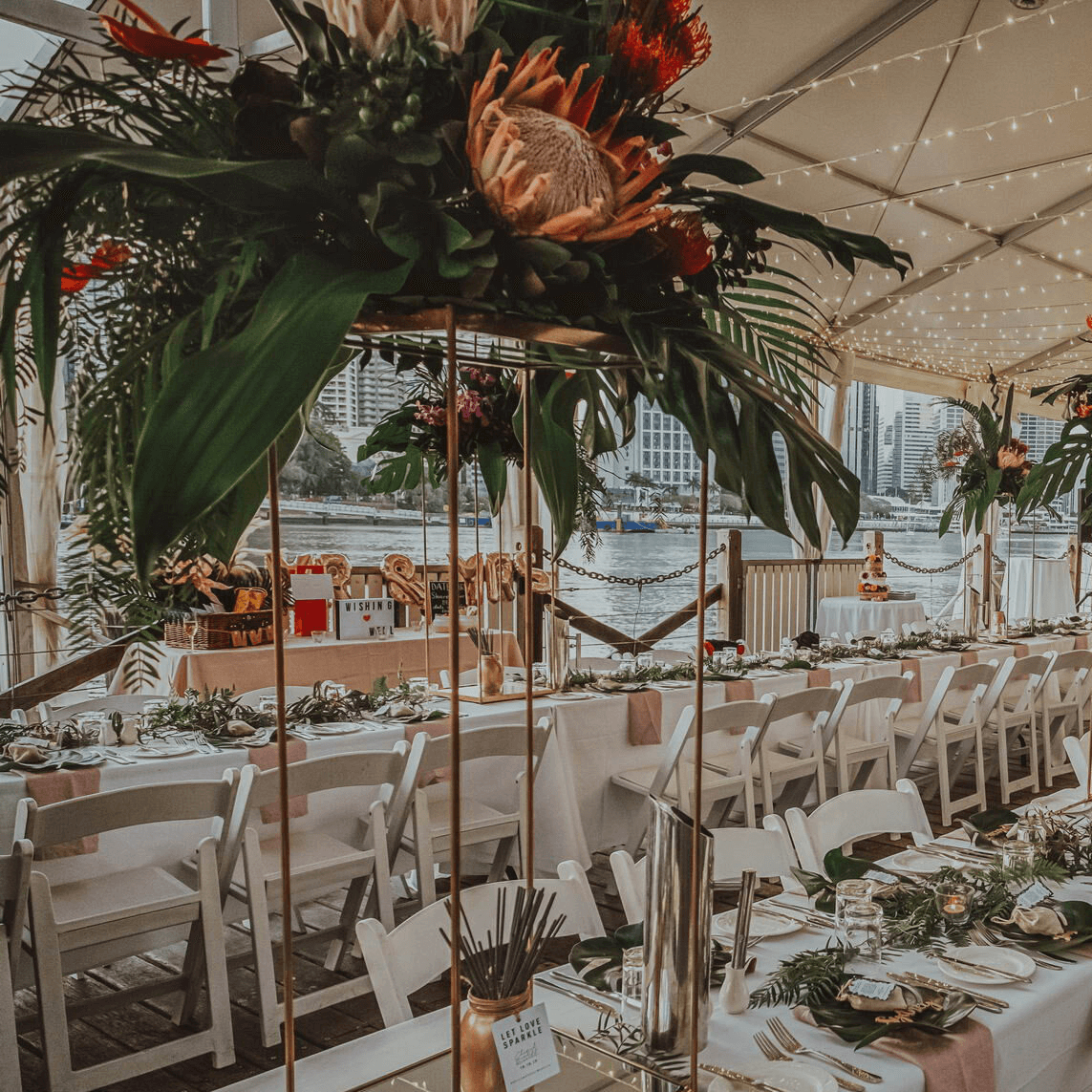 Riverfront Marquee Riverlife Weddings