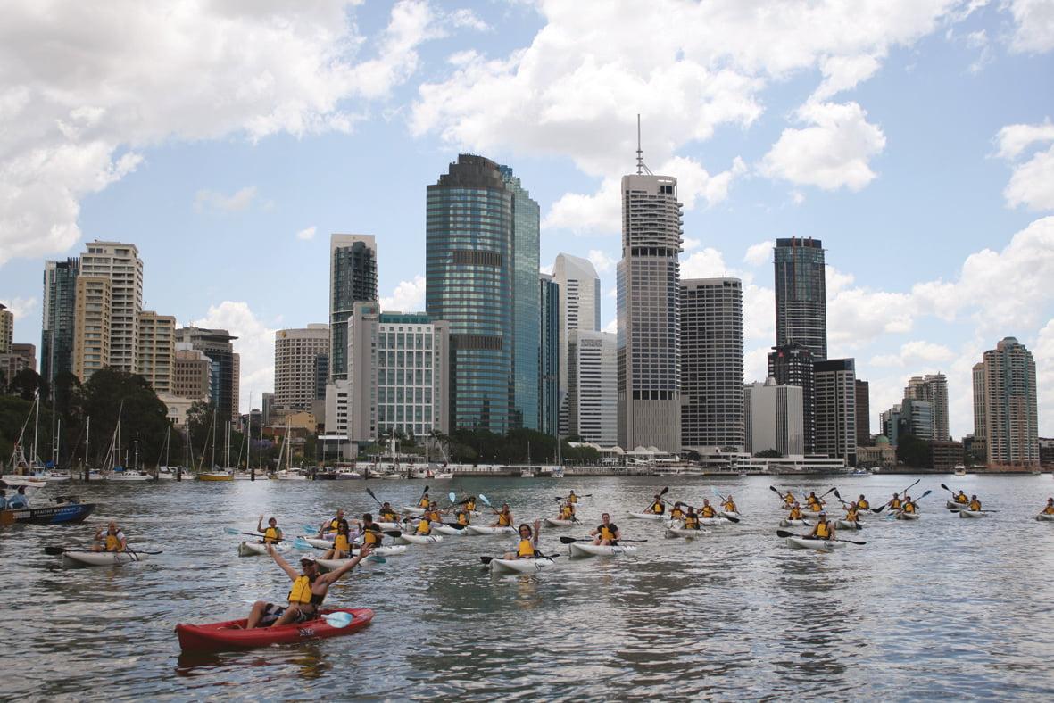Kayaking Team Building