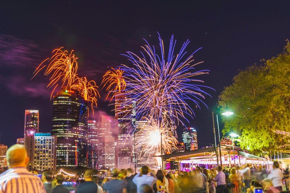 Riverfire Brisbane at Riverlife