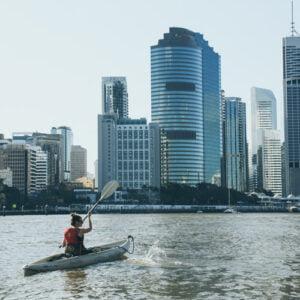 kayak brisbane river